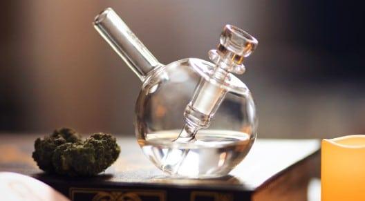 water pipe and marijuana